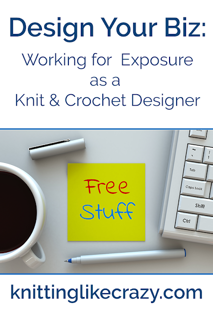 Working for Exposure as a Knit & Crochet Designer