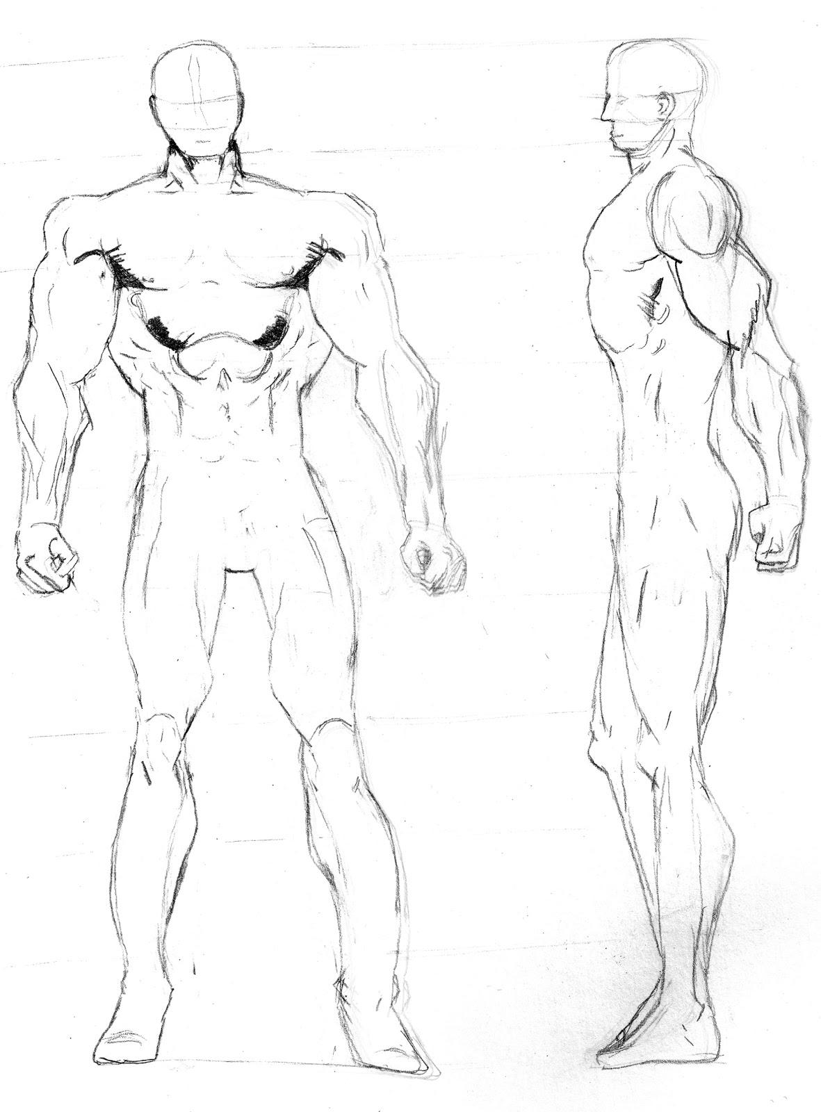 jez andrews art superhero template