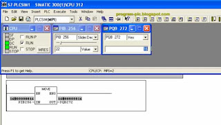 Simulation Analog Input and Output Programming in Simatic S7-PLCSim