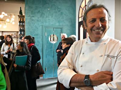 Venice, Italy Blog - Filippo La Mantia at San Giorgio Café - Photo: Cat Bauer