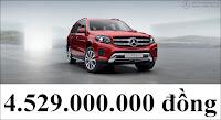 Giá xe Mercedes GLS 400 4MATIC