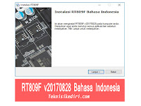 Update RT809F v20170828 Bahasa Indonesia Lengkap Serial Number