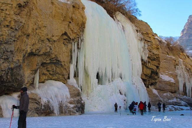 Chadar Frozen River Trek Zanskar Leh Ladakh India
