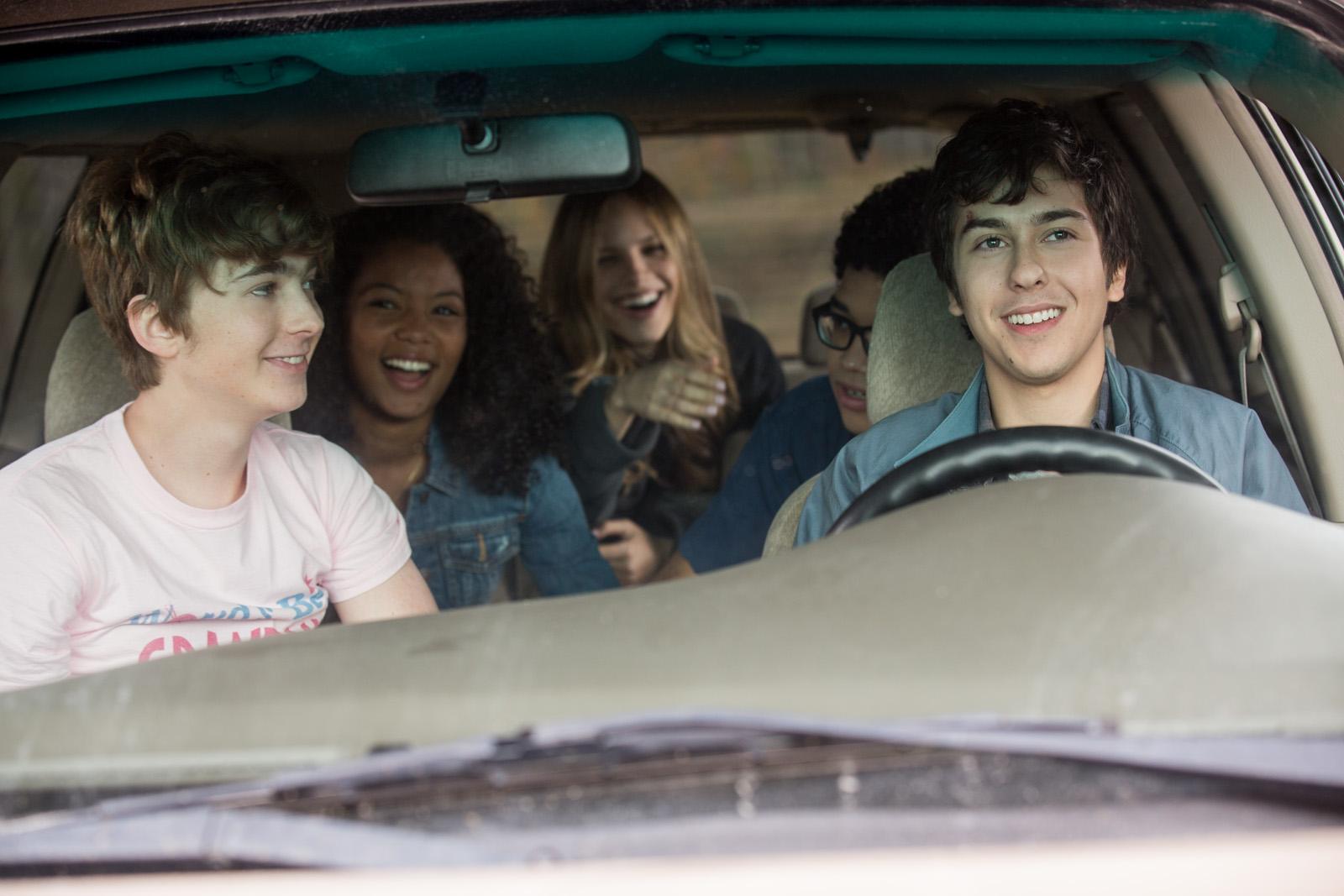 Ultimate Road Trip On Friendship In Paper Towns Bettina Heels Belka Black Hitam 39
