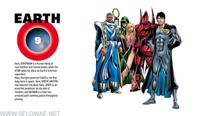 earth 9 daftar bumi dc
