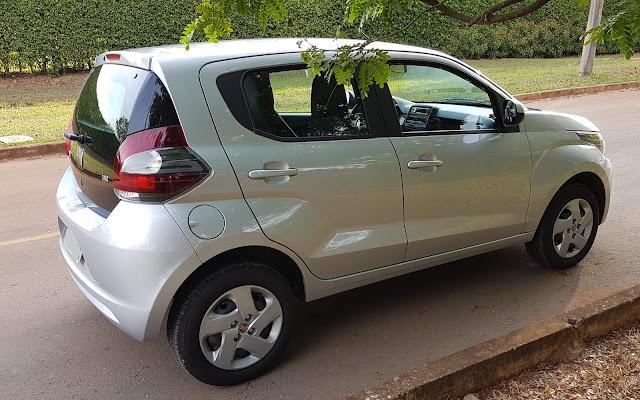 Fiat Mobi - teste de longa duração