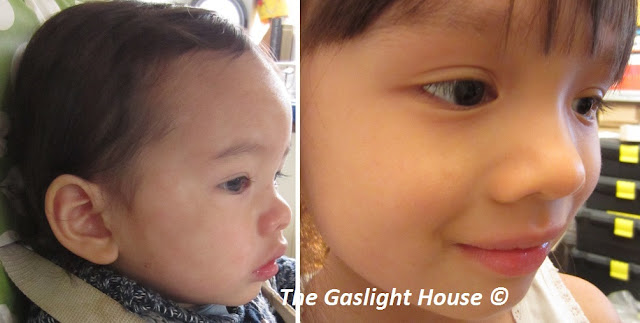 The Gaslight House children with colds