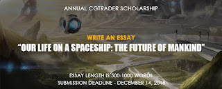 CGTrader Annual Scholarship 2019