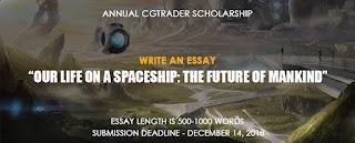 CGTrader Annual Scholarship 2019