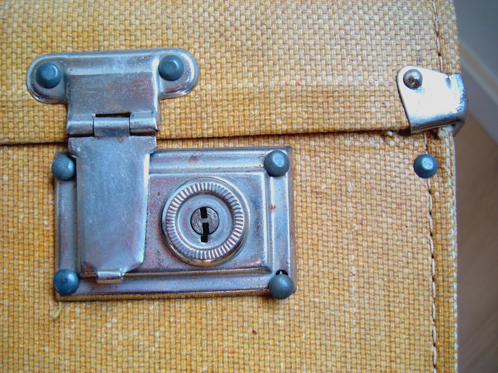 Kp Decor Studio Maleta Antigua Vintage Suitcase