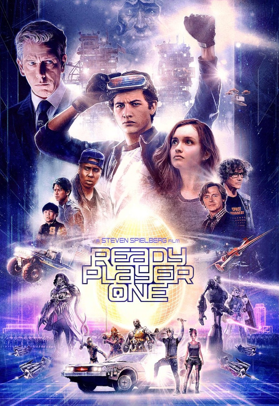 Ready Player One [2018] [DVDR] [NTSC] [CUSTOM HD] [Latino Final] [Video Limpio]