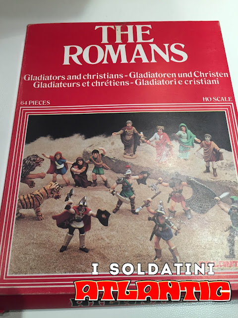 Soldatini Atlantic The Romans Gladiatori e Cristiani