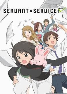 Servant x Service - Anime Musim Panas 2013 Paling Keren