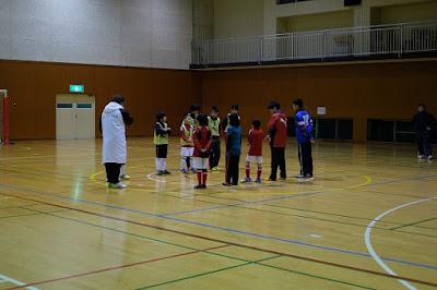 生坂サッカースクール(ISS)初蹴り