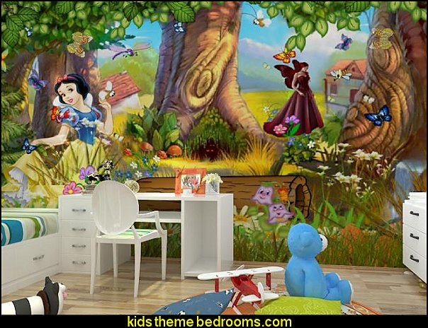 Snow White wallpaper mural