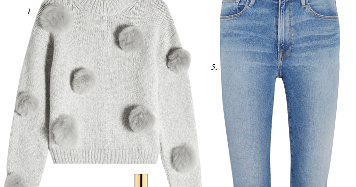 Daily Style Finds Tibi Pom Pom Sweater For Less Big Sale Alert
