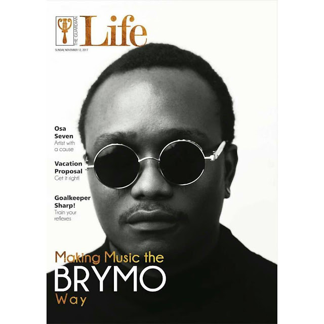 Brymo Is 'Making Music His Own Way' As He Covers Guardian Life Magazine