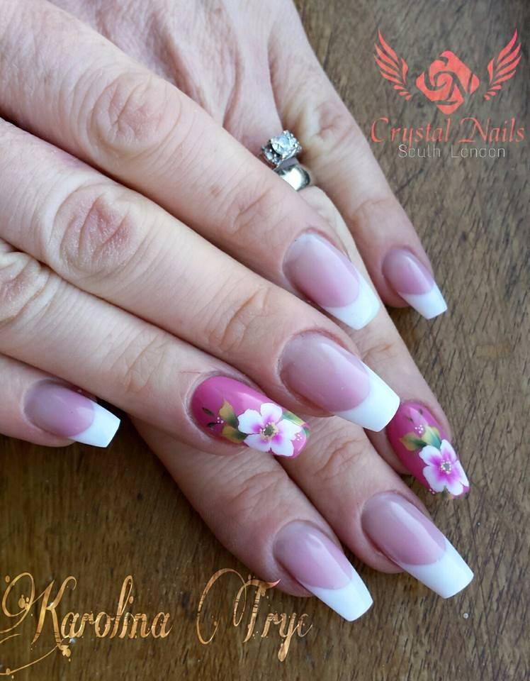 Nail Art Acrylic Uv Gel Nails Extension Crystal Nails Training