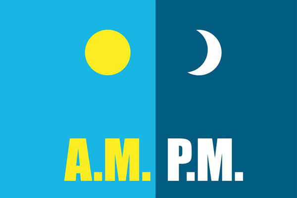 Perbedaan AM dan PM