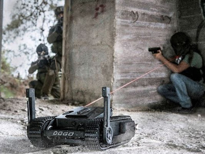 "[Video] Israel Ciptakan ""Dogo"", Robot Mata-mata Yang Dapat Membunuh"