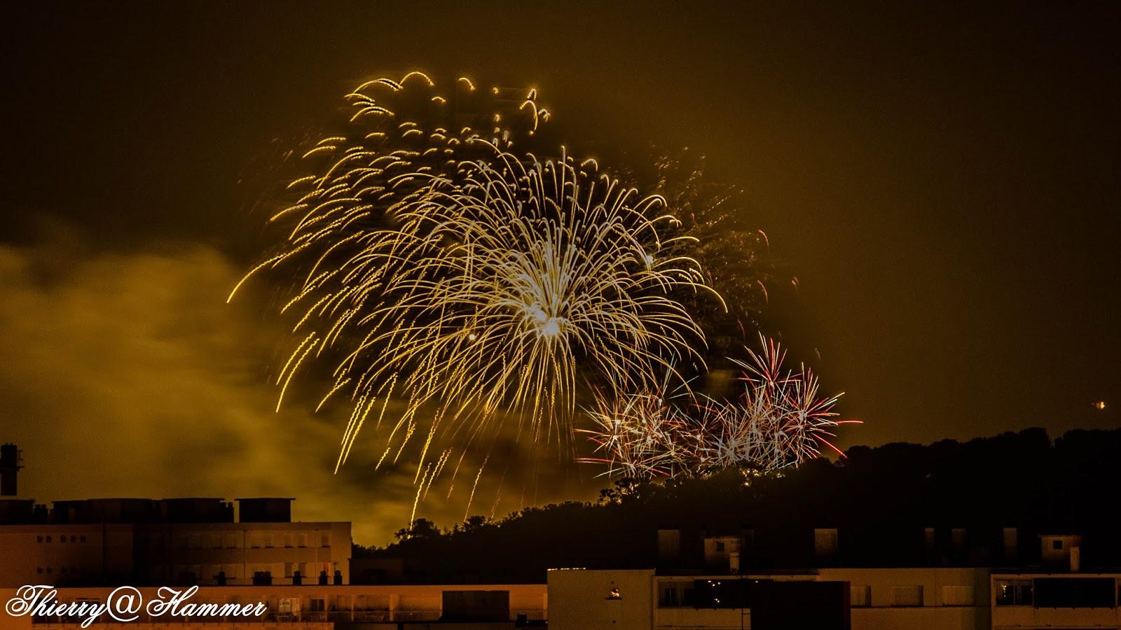les photos de thierry feu d artifice du 4 juin 2016 224 bormes les mimosas plage de la favi 232 re