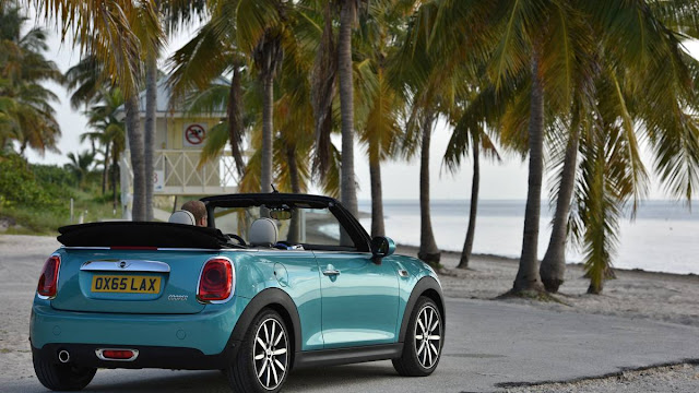 2016 Best Of Mini Convertible On Drive Review back open top view