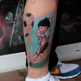 Tatuaje de Super Campeones