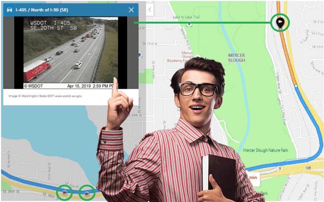 يتيح Bing Maps الآن رؤية صور لكاميرات المرور في الوقت الفعلي
