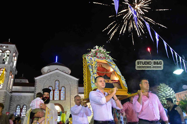 Η εορτή της Τιμίας Ζώνης στη Νέα Τίρυνθα παρουσία του Υπουργού Αγροτικής Ανάπτυξης Μ. Μπόλαρη (βίντεο)