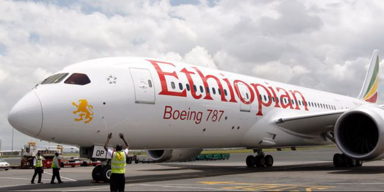 Pesawat Ethiophian Airlines Jatuh Setelah Lepas Landas