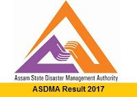 ASDMA Result 2017