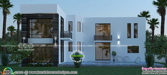 5 bedroom 3600 sq-ft house backside