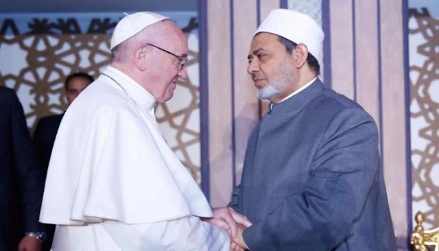 Grand Syekh Al-Azhar ke Paus Fransiskus: Selamat Natal
