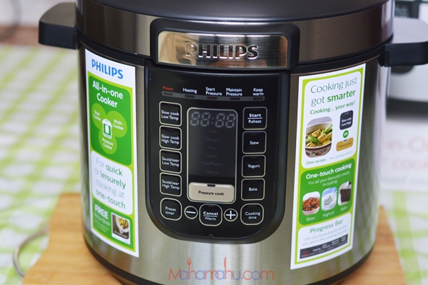 how to use philips all-in-one pressure cooker