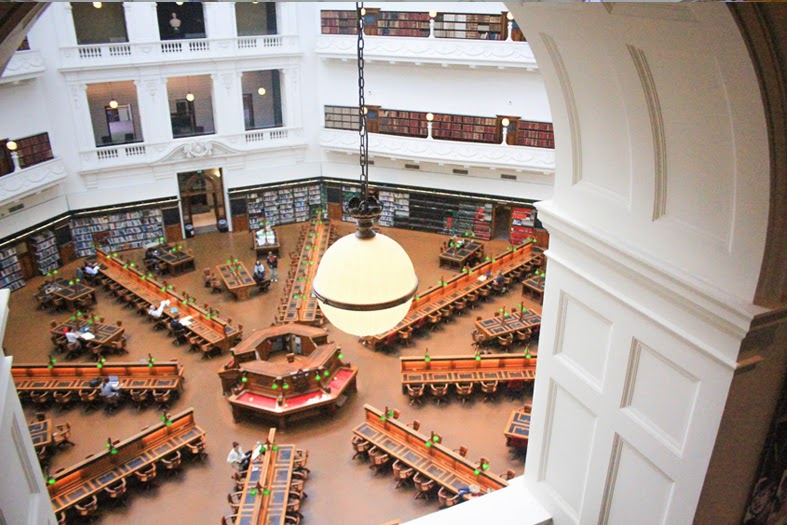 Melbourne's State Library