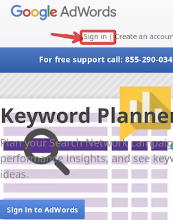 Adword keyword planner tool
