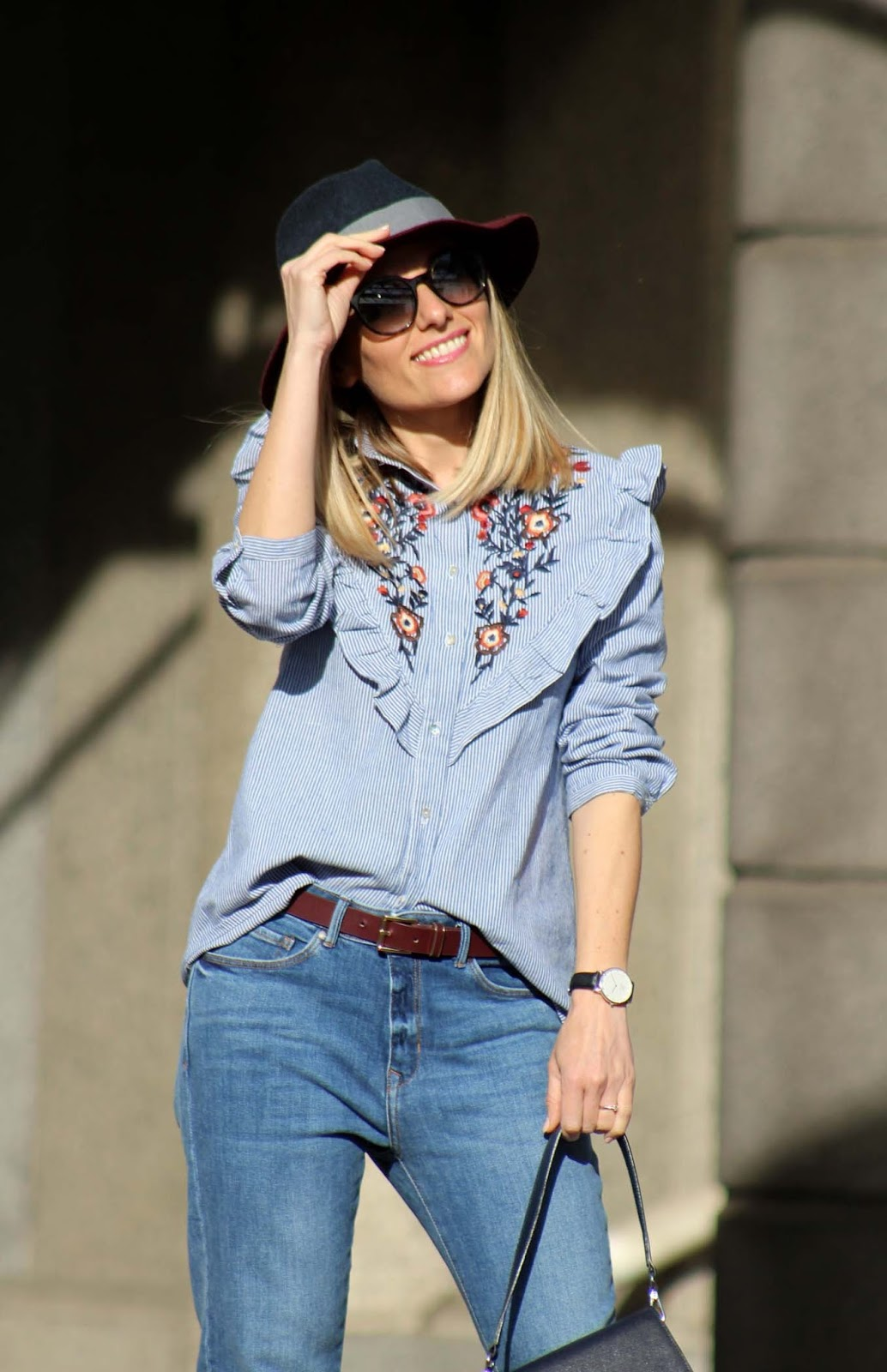 Eniwhere Fashion - Zaful shirt - volant