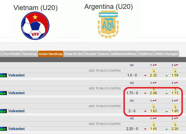 Nhận định, soi kèo nhà cái U20 Việt Nam vs U20 Argentina