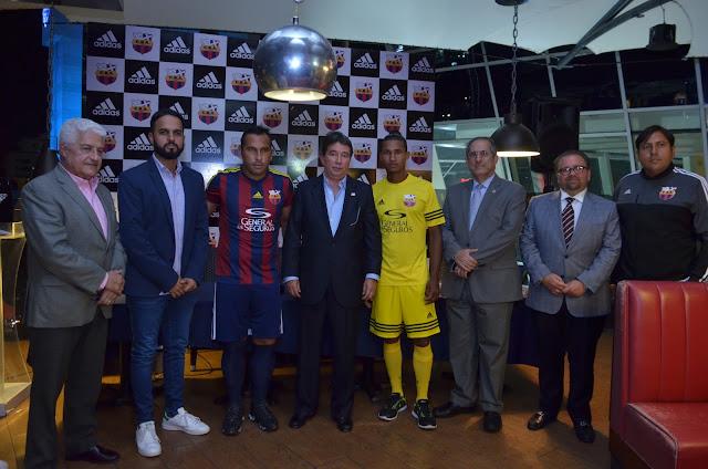 Barcelona Atlético y Adidas celebran alianza de cara a la LDF 2016