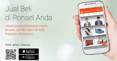 Aplikasi Toko Online Shopee