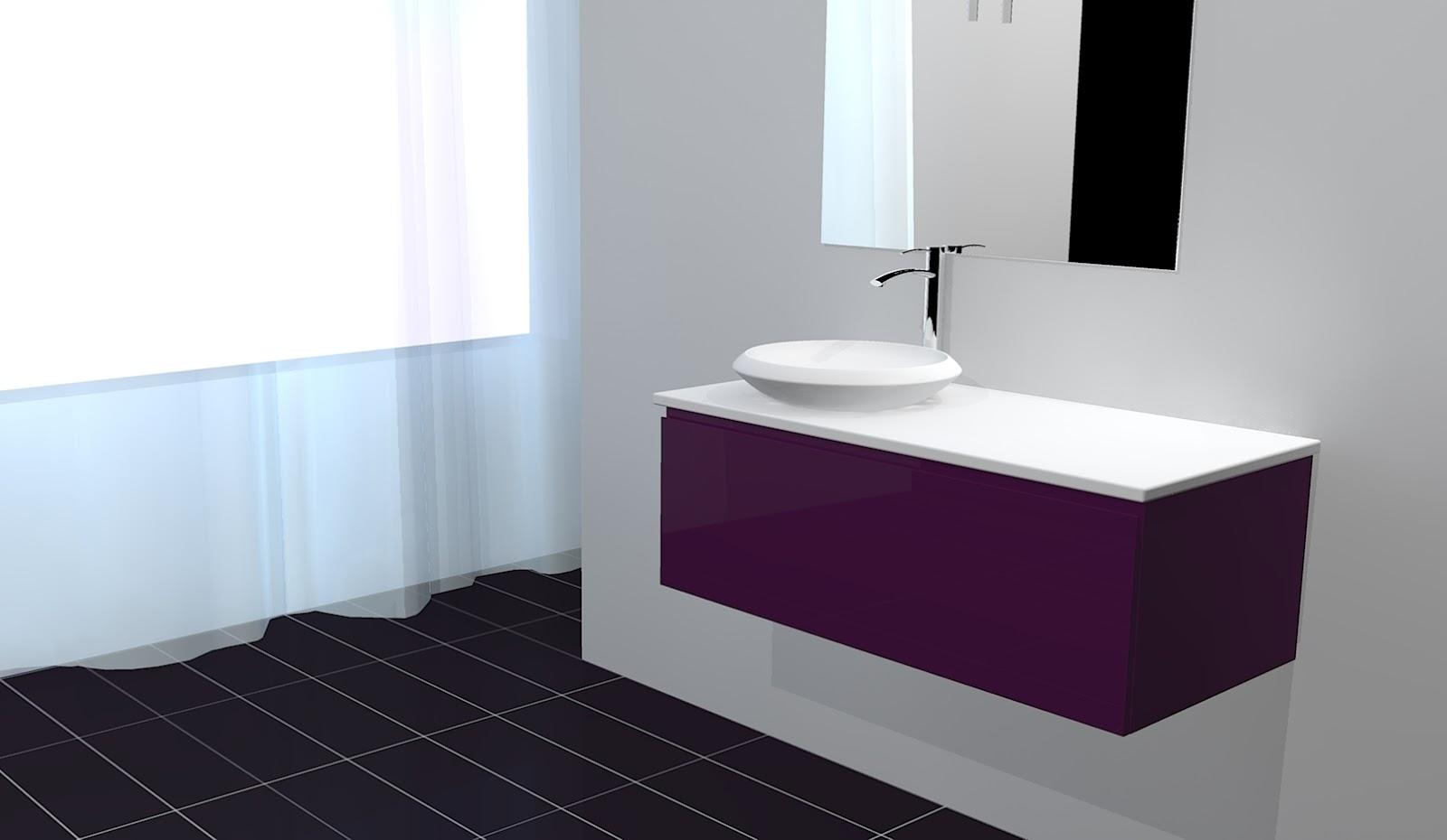 Cuisines et bain kitchens and bath cr ation meuble for Creation salle de bain 3d