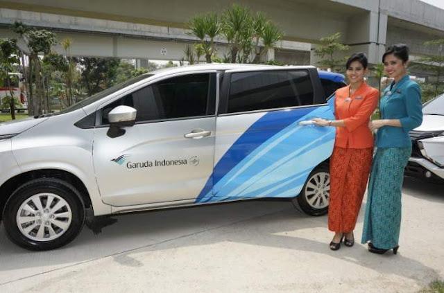 Xpander Jadi Mobil Awak Kabin Garuda Indonesia