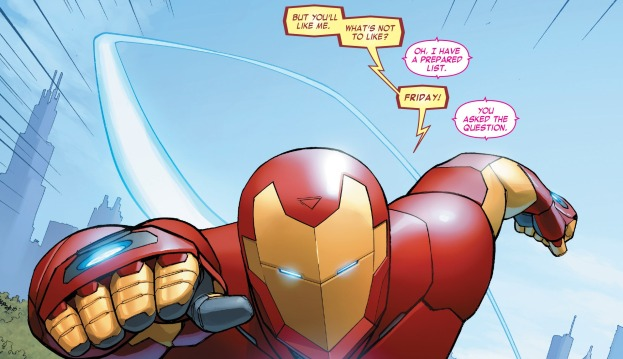 [Reseña] Invincible Iron Man.