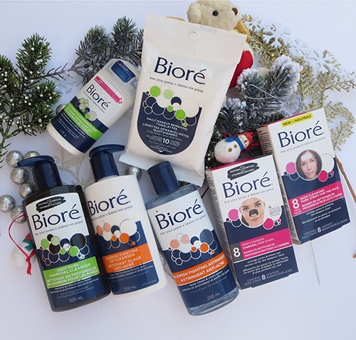 Stuff your Stockings with BIORE! ~ #Review #Giveaway #2016GiftGuide