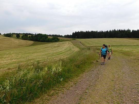 Tuż przez Przełęczą Trzech Dolin.