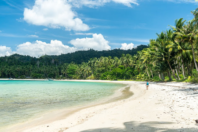 Mahilamomen beach-Port Barton-Palawan-Philippines