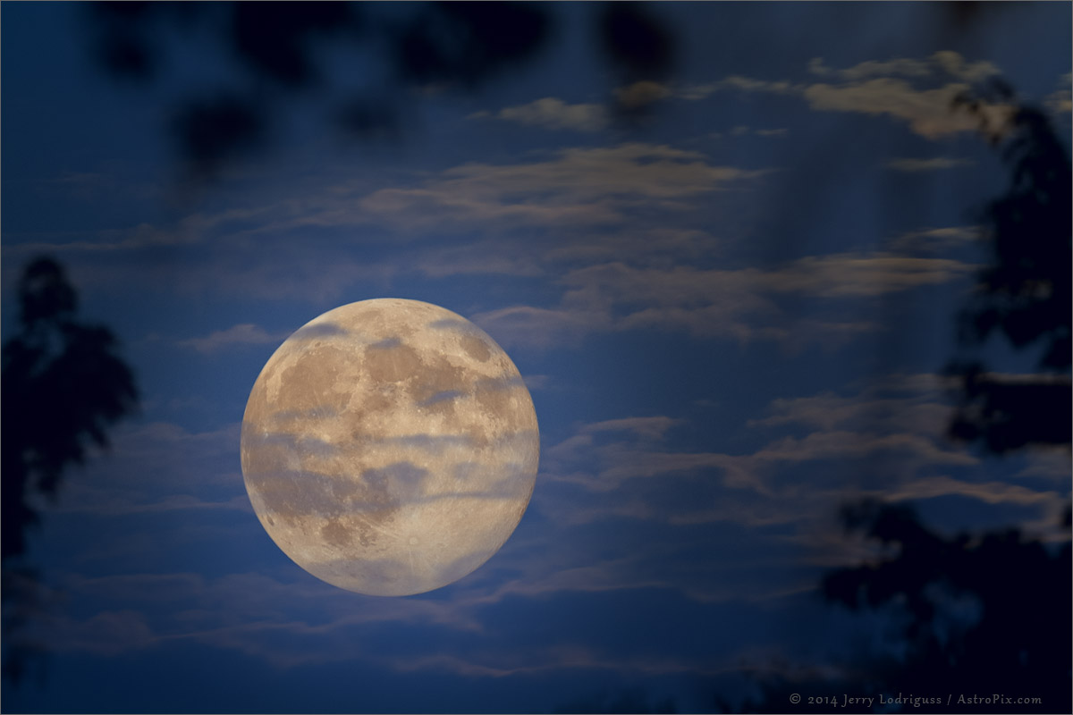 Supermoon, Surreal Moon