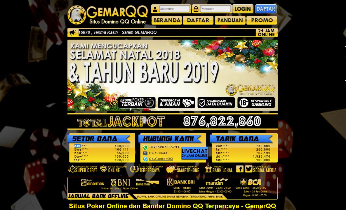 GemarQQ Situs Domino Qiu Qiu Terpercaya dan Terpopuler