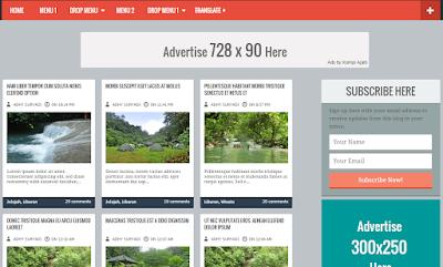 Kompi Banget - Template Blogger Valid HTML5 Dan CSS3 , Download Template Kompi Ajaib Responsive Gratis , Template SEO Kompi Banget , Kompi Banget Responsive Blogger Template Free Download