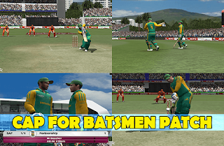 Cap for Batsmen Patch - EA Cricket 07